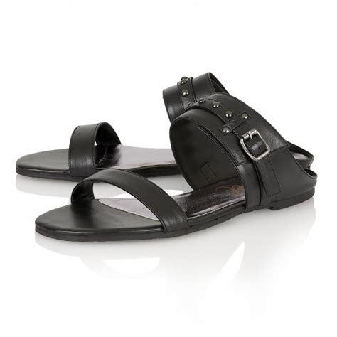 buy ravel san diego flat sandals in black