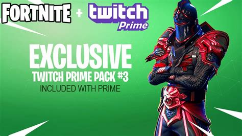 fortnite twitch prime pack  release date youtube
