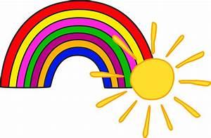 Sun Rainbow Kids Free Image On Pixabay