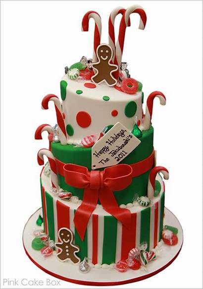 Cake Christmas Cakes Gingerbread Candy Theme Party