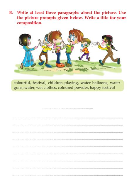 writing skill grade 3 picture composition 8 picture