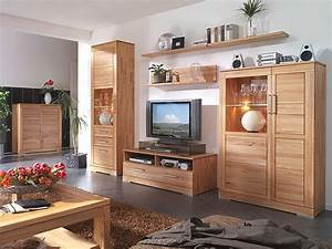 Mbel Wohnzimmer Echtholz