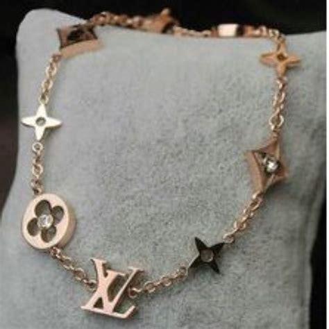 bracelet  lv inspired  ladies  ordered  necklace      bracelet