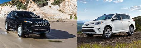 Compact Suv Comparison 2018 Jeep Cherokee V 2018 Toyota Rav4