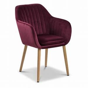 Stuhl Stoff Kaufen : stuhl emilia rot stoff online kaufen bei woonio ~ Indierocktalk.com Haus und Dekorationen