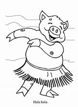Hula Coloring Hawaiian Pages Hoop Dance Dancer Piggy Cartoon Cliparts Hippo Dancers Colouring Luau Sins Deadly Getcolorings Printable Netart Diane sketch template