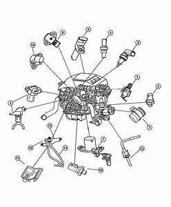 2008 Jeep Grand Cherokee Sensor  Differential Pressure  Pressure  Diesel  Filter  Particulate
