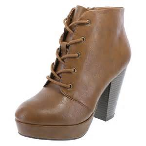 womens boots on sale payless womens macaroon lace up boot brash payless shoes