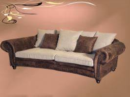 Sofa Kolonialstil Leder : big sofa im kolonialstil in linkenheim hochstetten 4 sitzer beige leder ~ Indierocktalk.com Haus und Dekorationen