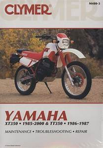 Clymer Workshop Manual Yamaha Xt350 1985