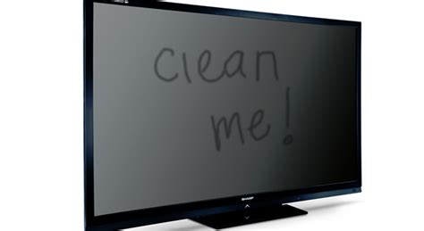 what is the best way to clean flat screen tv Design