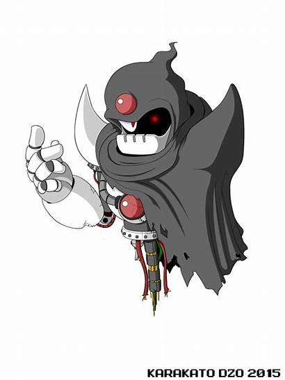 Mega Ghost Revolution Deviantart Robot Masters Megaman
