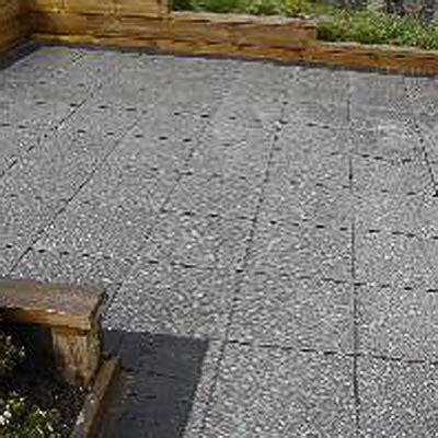 exposed aggregate hydrapressed paving slabs bc brick
