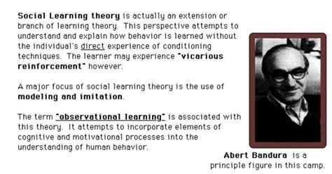 social learning theory bandura early childhood