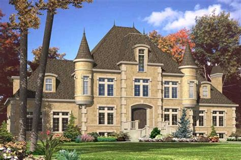 house plans with turrets european home plans home design 532