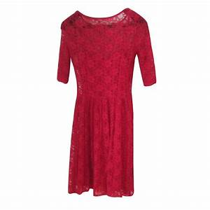 robes autre marque robe etam dentelle rouge ref13868 With robe femme etam