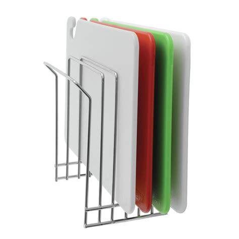 hubert metal wire wall mount cutting board rack
