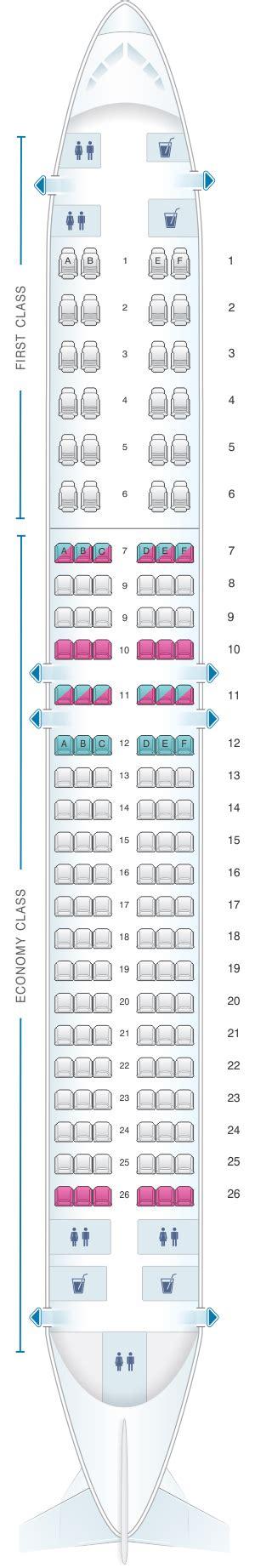 siege transavia plan de cabine air algerie boeing b737 800 config 2