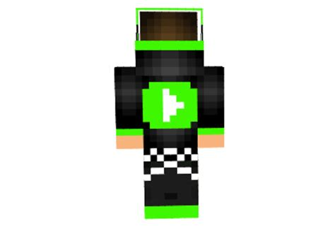 green youtube skin  minecraft mod minecraftnet