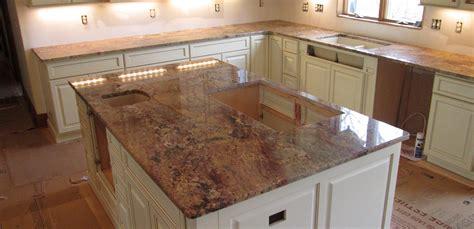 granite kitchen countertop island w 3 8 top radius