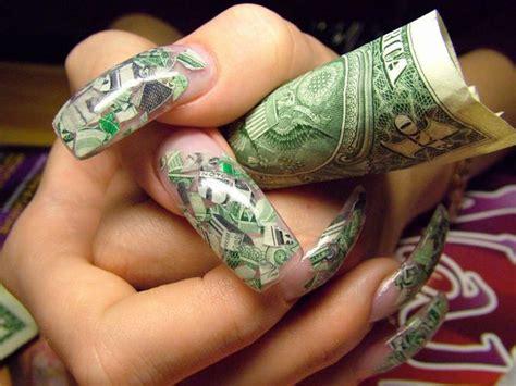 The Beautiful Money Nail Designs