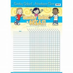 Sunday School Attendance Chart Template Sunday School Is Great Attendance Chart 22 Quot X 17 Quot Www