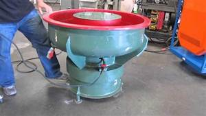 "Industrial 2HP Tumbler Polisher Machine 40"" Vibratory"