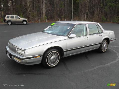 1990 silver metallic buick lesabre custom sedan 59689465