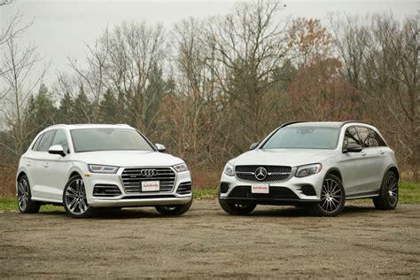 2018 Audi Sq5 Vs Mercedesamg Glc 43 Comparison Test