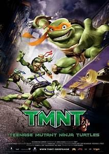 TMNT DVD Release Date August 7, 2007