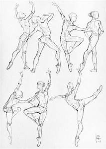 How To Draw The Human Body – Study: Dance Body Positions ...