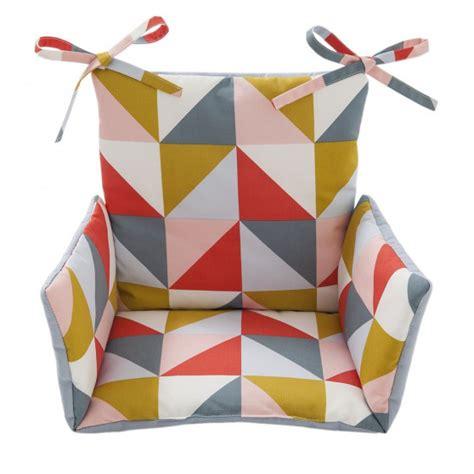 Patron Coussin Chaise Haute by Coussin Chaise Haute Motifs Triangle Triann Cocoeko