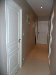 couloir sans vie page 2 With quelle couleur pour un couloir 15 deco chambre lin marron