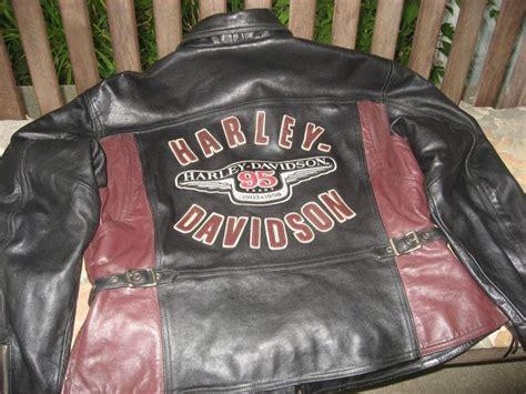 1998 Harley Davidson Leather Jacket Mens Men 95 Years 1903