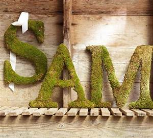 17 best ideas about moss covered letters on pinterest With moss letters michaels