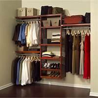 "closet organizer systems John Louis Home 16"" Deluxe Closet System - Honey Maple ..."