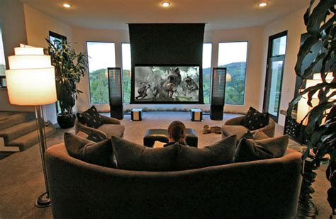 modern living room with television plushemisphere