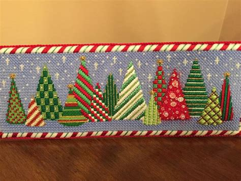 17 Best Images About Needlepoint Christmas Trees On