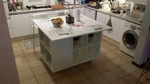 Cuisine Moderne Pas Cher : un ilot de cuisine moderne pas cher ~ Melissatoandfro.com Idées de Décoration