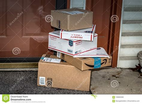 usps amazon packages priority boxes mail preview