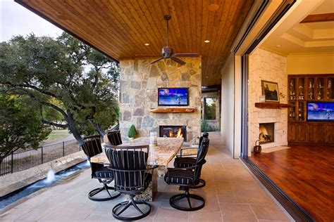 texas hill country tuscan  sterling custom homes