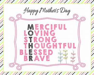 Free Mother's Day Printables - Page 2 of 2 - The Girl Creative