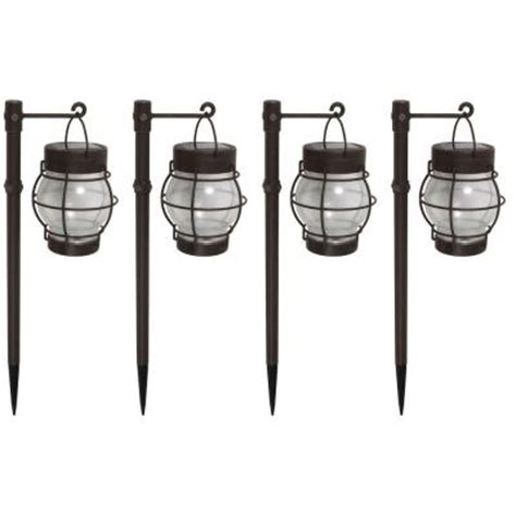 malibu daybreak led solar pathway lights 4 pack