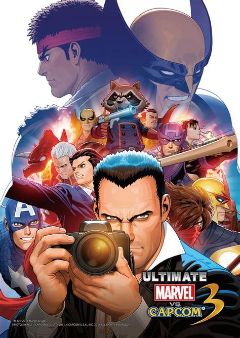 Ultimate Marvel Vs Capcom 3 Tfg Review Artwork Gallery