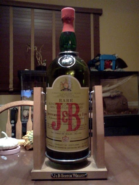 gallon   era bottle  jb rare scotch