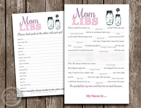 Mom Libs Mothers Day Card! Celebrate Mom With A Funny