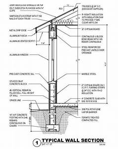 Section Drawings Including Details Examples Architecture