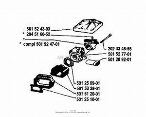 Husqvarna 61  1981 Carburetor