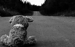 black and white, lonely, sad, wallpaper - image #4081706 ...