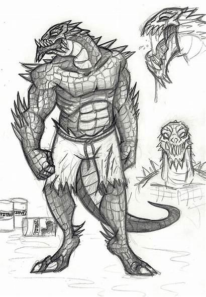 Croc Killer Deviantart Roids Drawings Batman Fan